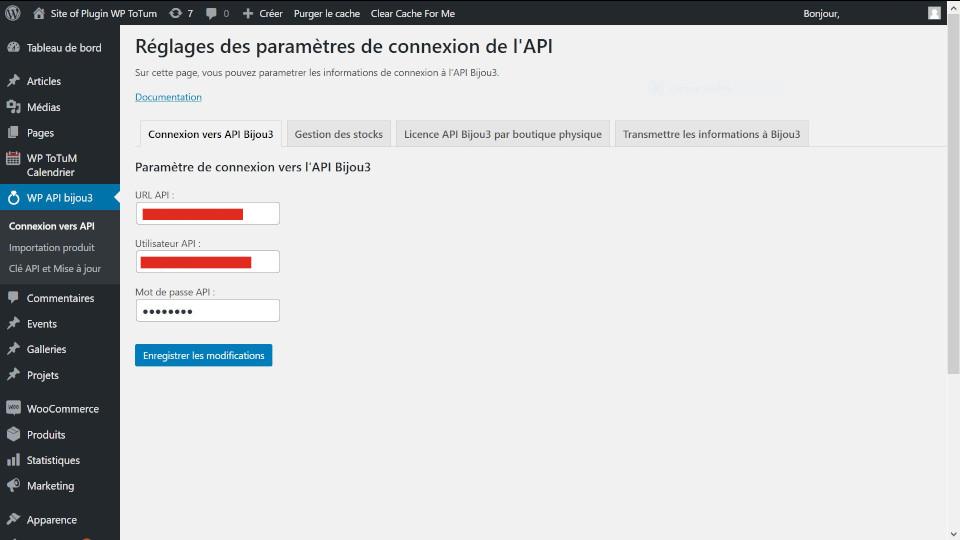 Connexion vers API Bijou3-1